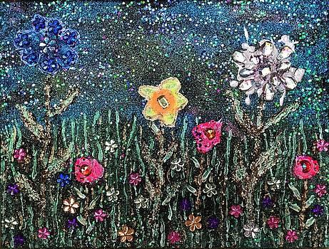 Flowers 4 by Sharon De Vore