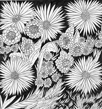 Flowers 5 by Lou Belcher