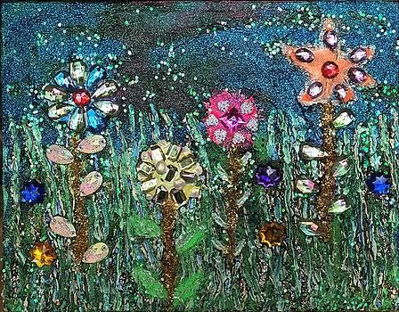 Flowers 5 by Sharon De Vore
