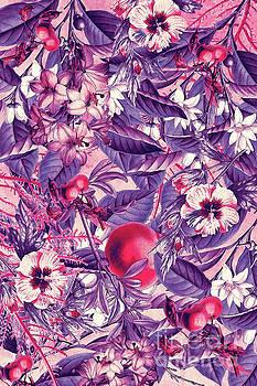 Justyna Jaszke JBJart - flowers 9 purple