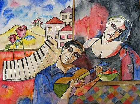 Flowers and Music by Guri Stark