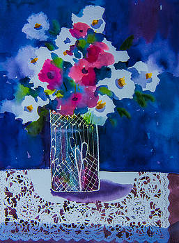 Flowers and Lace by Vickie Myers
