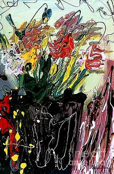 Flowers Blossom by Rebecca Flores