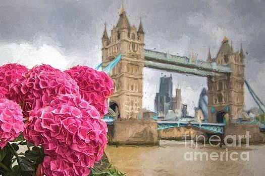 Flowers by the Bridge by Howard Ferrier