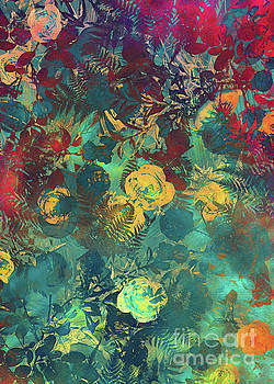 Justyna Jaszke JBJart - flowers colored art