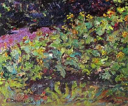 Flowers Etude by Liudvikas Daugirdas