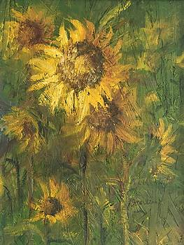 Flowers Everywhere by Georgene Carlton