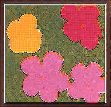 Flowers F And S II 73 by Andy Warhol
