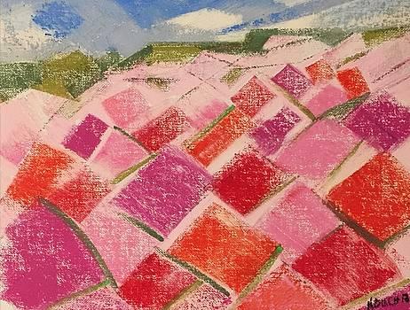 Flowers Fields by Norma Duch