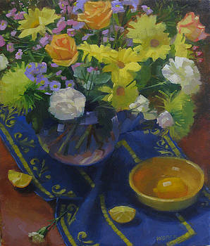 Flowers for a Valentine by Kathleen Weber