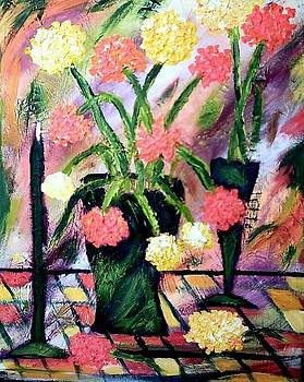Flowers for Jennifer by Ted Hebbler
