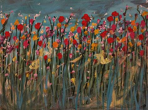 Flowers for my Love by Joanna Deritis