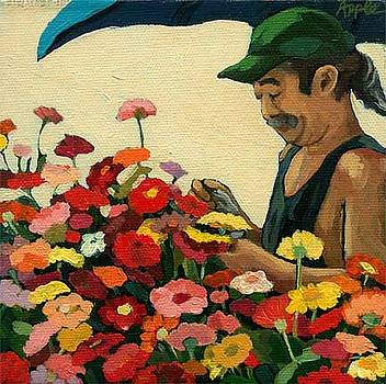 Flowers for Sale by Linda Apple