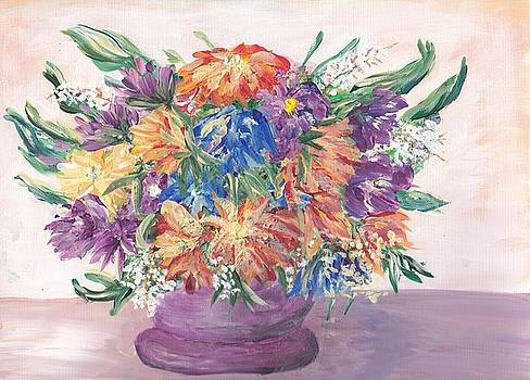 Flowers From my Garden by Mary Sedici