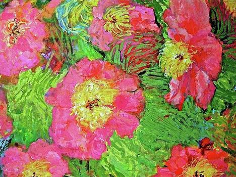 Flowers from Van Gogh by Sandy Welch