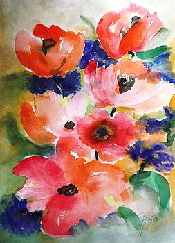 Flowers by Hedwig Pen