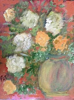 Flowers in a Pot by Patricia Taylor