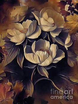 Flowers In Fall by Barbara Milton