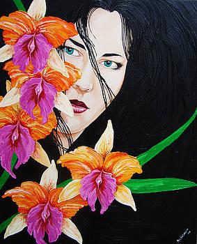 Flowers In My Garden by Juan Alcantara