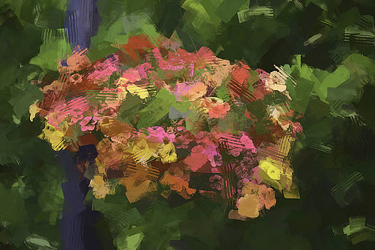 Flowers In The Abstract by Tricia Marchlik