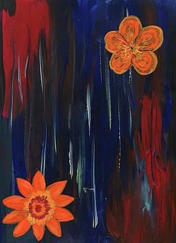 Flowers in the Stream by Neliza Drew