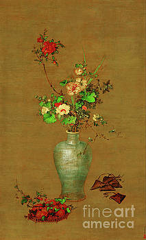 Flowers in the Vase by Giuseppe Castiglione