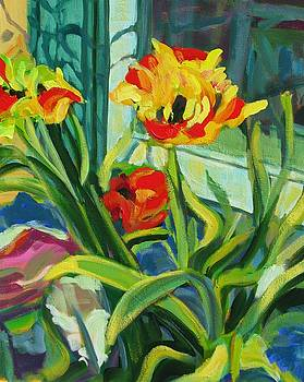 Flowers In The Window by Brian Simons
