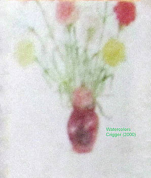 Flowers in Vase by Glenda Crigger