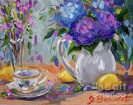 Flowers Lemons by Jennifer Beaudet