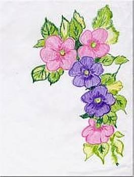 Flowers by Lorna Lorraine
