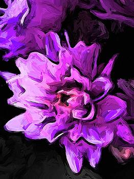 Flowers of Lavender and Pink 1 by Jackie VanO