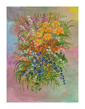Flowers of Springtime by Lynn Takacs