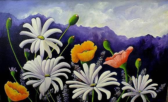 Flowers of the Valley by Sandra Sengstock-Miller