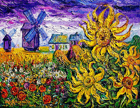 Ari Roussimoff - Flowers of Ukraine