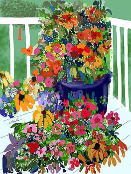 Flowers on Deck by Wade Binford
