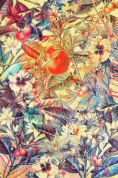 Justyna Jaszke JBJart - flowers orange