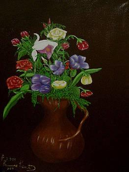 Flowers by Paul Bonnie Kent