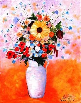 Flowers. by Sandro Sabatini