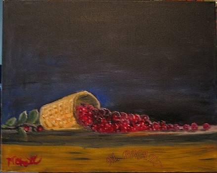 Flowing cherry by M Bhatt