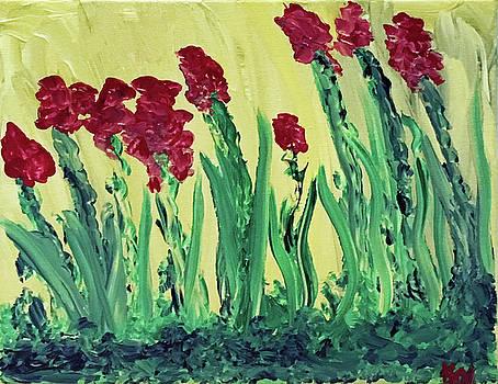 Flowing Flowers by Karen Nicholson