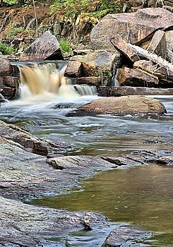 Flowing over the Rocks by Andrew Miles