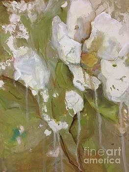Flowing Rose by Kathy Brusnighan