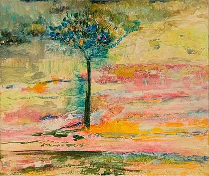 Fluffee Tree by Martine Bilodeau