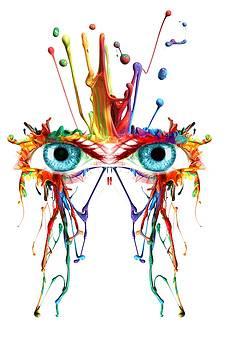 Robert G Kernodle - Fluid Abstract Eyes