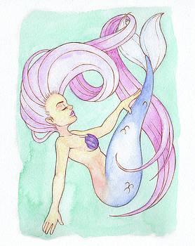Fluid Mermaid - MerMay 2018 by Armando Elizondo