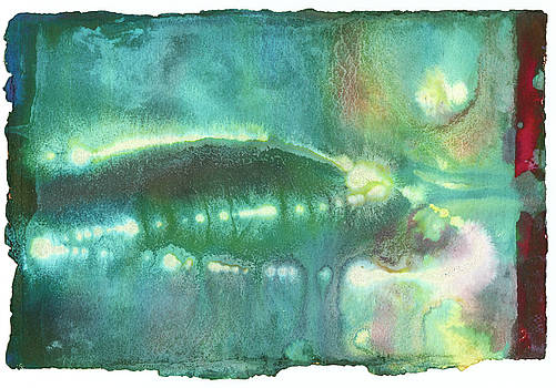 Deep Sea Florescence by Sperry Andrews