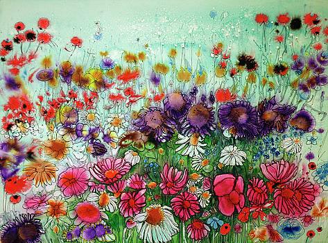 Flurry of Flowers by Shirley Sykes Bracken