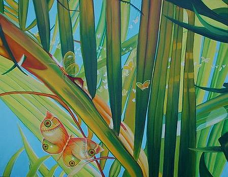 Flutterby2 by Leonard Aitken