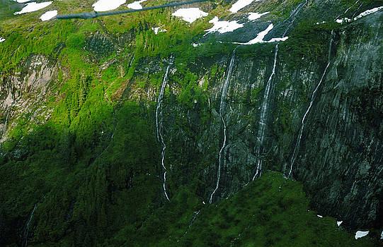 Fly By Waterfall by Preston Zeller