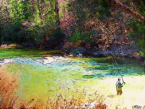 Darlene Bell - Fly Fishing